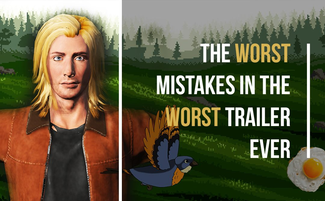 The worst mistakes in the worst trailer ever
