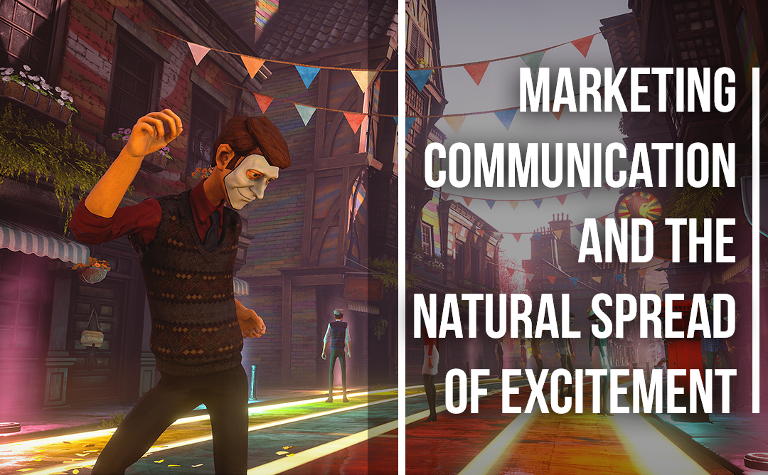 Marketing Communication and the Natural Spread of Excitement